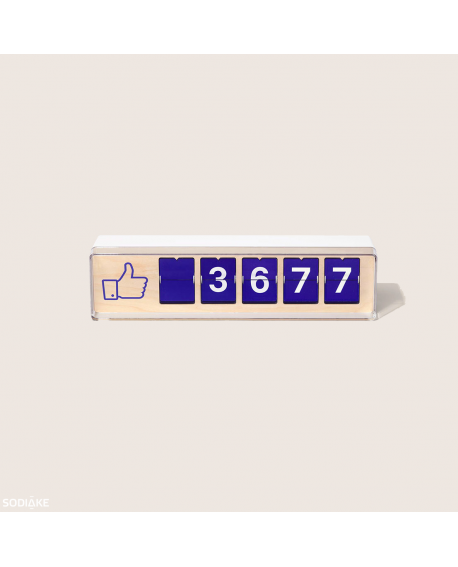 Compteur à Likes Facebook (Smiirl - Sodiake)