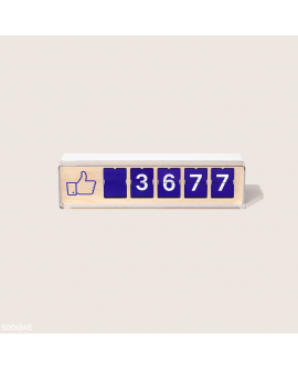 Compteur à Likes Facebook Smiirl (Occasion) - Destockage