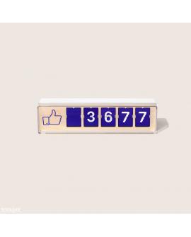 Compteur à Likes Facebook Smiirl (Occasion)
