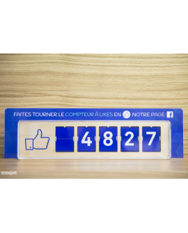 Stop Rayon à placer sur le Compteur Facebook