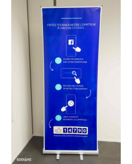 5 Affiches pour communiquer sur le Compteur à Likes Smiirl