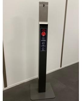 Distributeur de Gel Hydroalcoolique à bouton 'Pousse Coude' sans contact