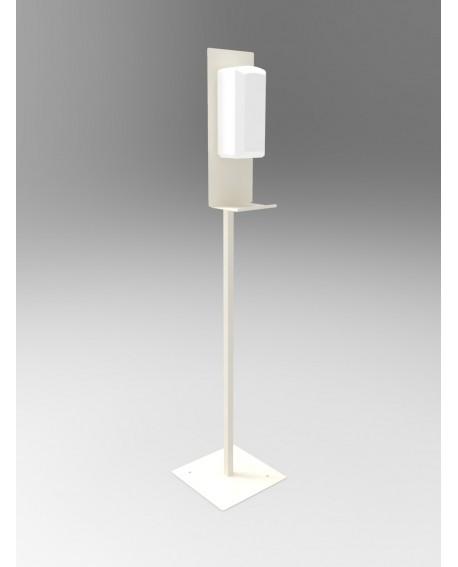 Présentoir pour distributeur de gel hydroalcoolique sans contact / infrarouge